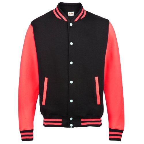 Awdis Kids Unisex Varsity Jacket/Schoolwear