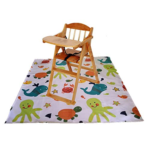 Splat Mat for Under High Chair, 43.3
