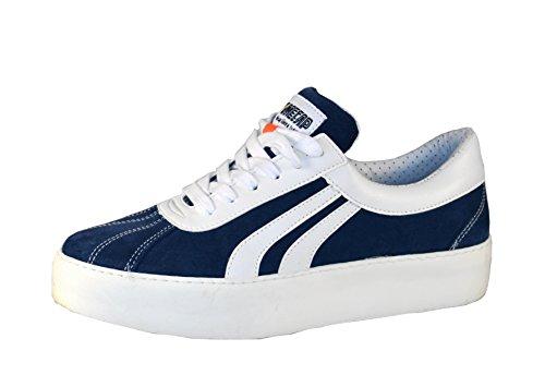 Homme Femme Sneakers Mecap pour LaudaBolt Bleu et c qI8HBF1