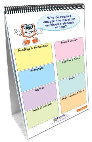 NewPath Learning English Language Common Core Curriculum Mastery Flip Chart Set, Grade 5