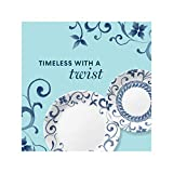 Corelle Boutique Lunch Plate Artemis 8.5in (21.6cm) 6 Pack