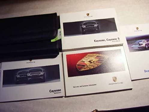 2004 porsche cayenne and cayenne s owners manual porsche amazon rh amazon com 2004 porsche cayenne s owners manual 2015 Porsche Cayenne
