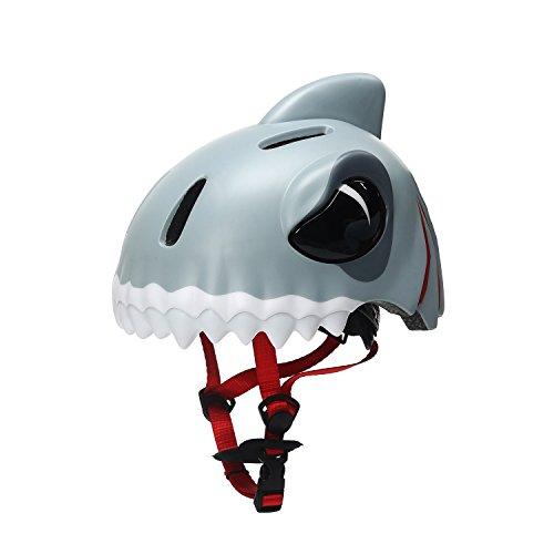 Cheap Bavilk Kids Shark Bike Helmet Multi-Sport Helmet for Cycling/Skating/Scooter/Skateboard/Roller blading Protective Gear