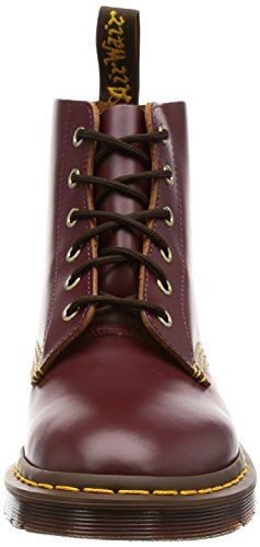 Dr.Martens Mens 101 Arc 6 Eyelet Leather Boots sang de bœuf