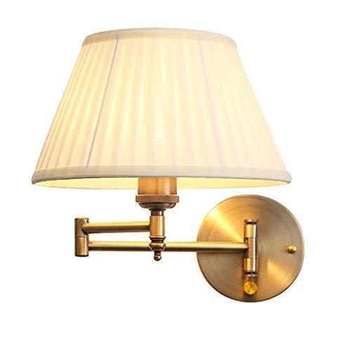 Teng Peng Lámpara de Pared-Moderno Brazo Largo Lámpara de Pared Aplique de Pared de Hierro para balcón Dormitorio de la...