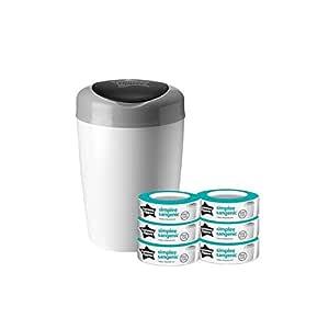 10 Packs Arm /& Hammer Diaper Pail Snap Nappy Bin Refill Bags UK Stocks