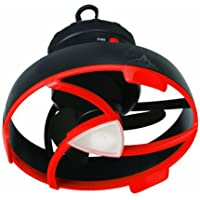 Basecamp® by Mr. Heater Tent Fan with LED Light (Black/Red)