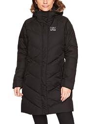 Helly Hansen Women\'s Aden Puffy Parka Jacket, Black, Medium