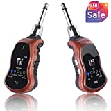 Best Wireless Guitar Systems - Kithouse K380C Wireless Guitar Transmitter Receiver System Set Review