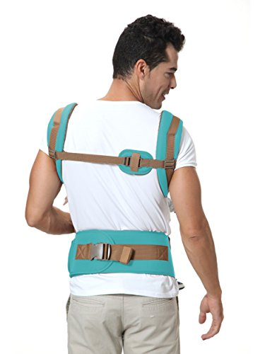Brighter Elements Ergonomic Baby Carrier With Hip Seat 5 Positions To Carry Your Newborn Infant Or Toddler Safe And Comfortable For Child And Moms