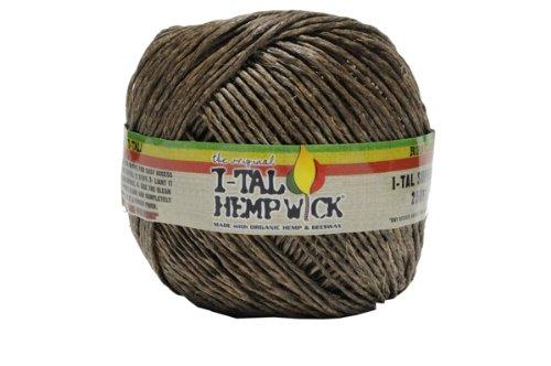 I-Tal-Hemp-Wick-Spool-Made-Of-Organic-Hemp-Bees-Wax-250-of-Wick-by-Penny-Lane