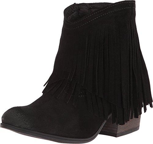 (Taos Women's Shag Boots, Black Suede, Size - 37)