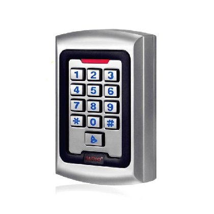 Gate Keypad (ALEKO LM177 12/24V DC Universal Touch Panel Wired Keypad Code or ID Card Access)