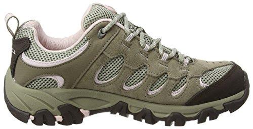 Chaussures Femme Vert De pale brindle Basses Ridgepass Merrell Lilac Randonnée wqH5U