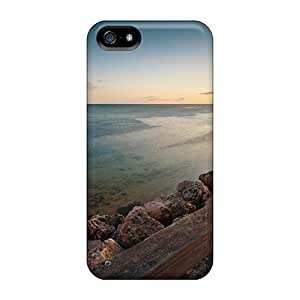5/5s Scratch-proof Protection Case Cover For Iphone/ Hot Clam Beach Phone Case