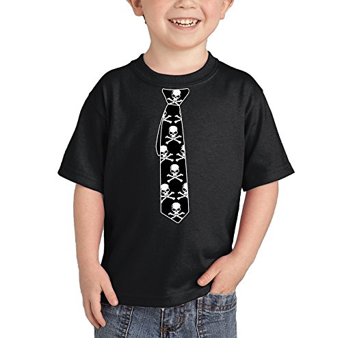 Toddler Infant Tie Skull T shirt