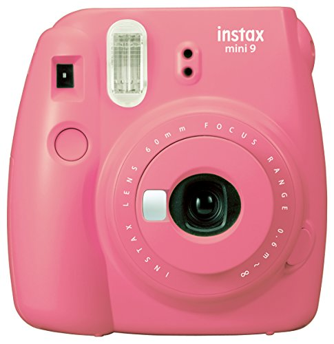 Fujifilm Instax Mini 9 Instant Camera - Flamingo Pink Deal (Large Image)
