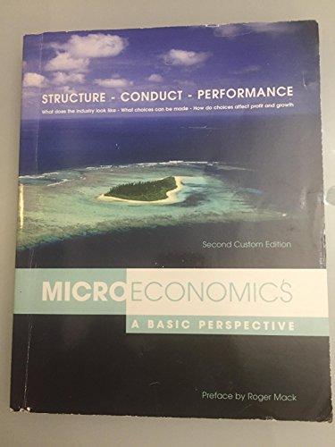 Microeconomics A Basic Perspective 2nd Custom Edition Glenn Hubbard Anthony Patrick O'Brien