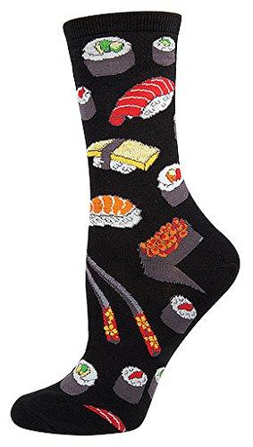 Socksmith-Sushi-Socks-Black-9-11-Black