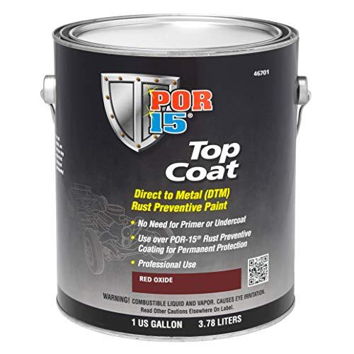 POR-15 46701 Top Coat Red Oxide Paint 128. Fluid_Ounces by POR-15 (Image #1)