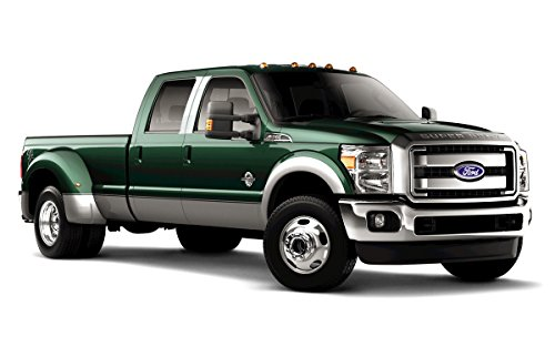 Fits 99-12 FORD F-250/350 SUPER - 4DR - Chrome STAINLESS STEEL PILLAR POST ()