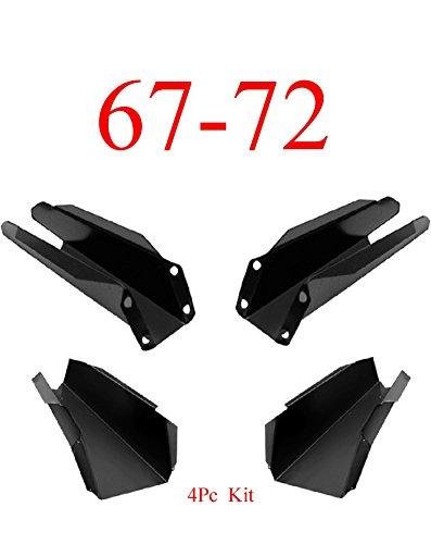 67-72 Chevy 4Pc Cab Floor Support Kit