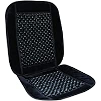 Wooden Bead Car Seat Cushion Black