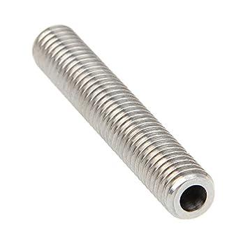 ARBUYSHOP 3 mm del barril por MK8 Extrusora garganta de la tobera ...