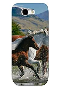 Awesome PJeAqWt2180yFoSp Trolleyscribe Defender Tpu Hard Case Cover For Galaxy Note 2- Beautiful Horses by lolosakes
