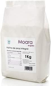 Harina de arroz integral 1kg