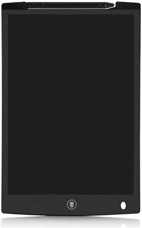 LCDライティングタブレット12インチカラフルなデジタル電子グラフィックタブレットポータブルボード手書き ペン&タッチ マンガ・イラスト制作用モデル (Color : Black)