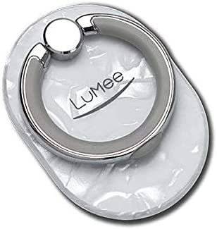 purchase cheap 20966 fb788 LuMee Ring Stand Holder, Pearl White 2 | Sleek 360 Degree Rotation |  Multi-Functional with Collapsible Kickstand | Compatible with All Smart  Phones