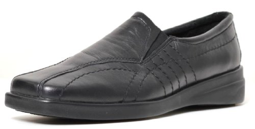 Nil Smile Black Leather Shoes IM127