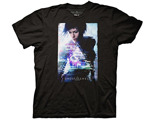 Ripple Junction Ghost in The Shell Key Art Adult T-Shirt 3XL Black