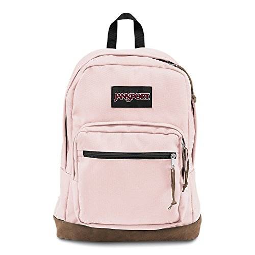 (JanSport Right Pack Laptop Backpack - Pink Blush)