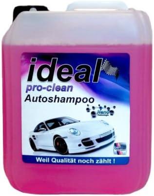 Redfox24 Ideal Pro Clean Autoshampoo Konzentrat Mit Nano Tec Aktivschaum 10 Liter Auto