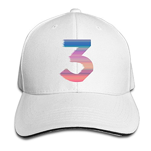 Chance The Rapper No.3 Number 3 Baseball Cap Snapback Hats Sandwich Snapback Hats - Rappers Hat