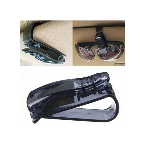 Free Shipping Car Auto Sun Visor Glasses Sunglasses Card