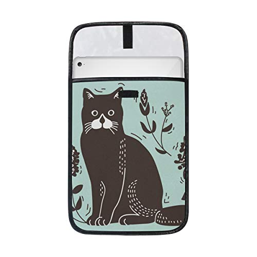 imobaby Cat Lithograph iPad Protective Case Storage Carrying Laptop Tablet Sleeve Case, Compatible with Apple 12/12.9 Inch iPad Pro Tablet