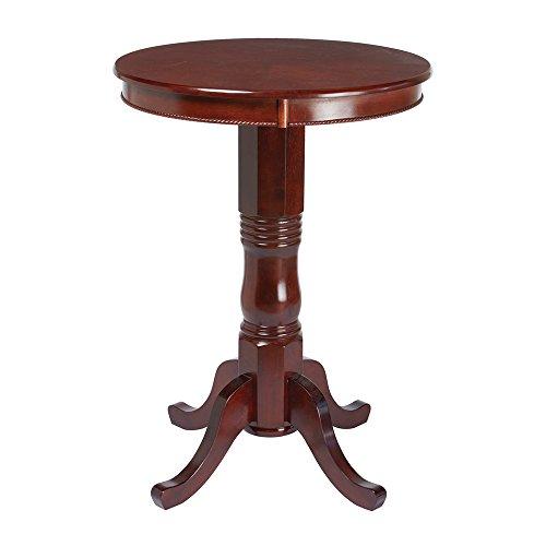 Cheap RAM Game Room BPUB ET Round Pub Table, English Tudor