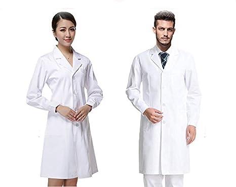 5fcff3891618b Buy GENERIC MALE : nurse uniform long-sleeve doctor coat short sleeve lab  coat cotton white coat nurse costume uniform doctor overall Online at Low  Prices ...