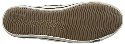 Mustang 4058-305 Zapatillas de lona hombre Negro (9 Schwarz)