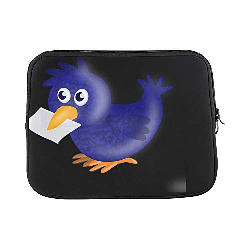 - Design Custom Carrier Pigeon Homer Pigeon Bird Envelope Twitter Sleeve Soft Laptop Case Bag Pouch Skin for MacBook Air 11