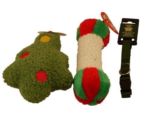 Pyara Paws Puppy Christmas Bag – Green BT, My Pet Supplies