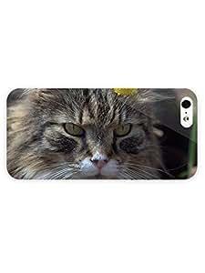 3d Full Wrap Case for iPhone 4s Animal Cat17