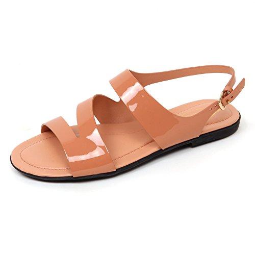 woman shoe basso rosa scarpa salmone TOD'S sandalo donna D0492 B0zqx6