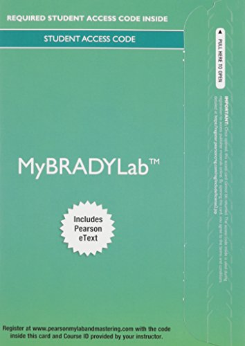 MyBradyLab with Pearson eText -- Access Card -- for Prehospital Emergency Care by Pearson