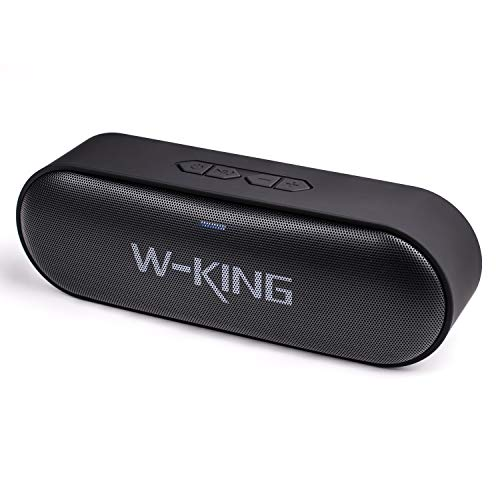 Wking Portable Bluetooth Speaker, Wireless Speakers with Loud Clear Sound, Rich Deep Bass, TF Card Slot Outdoor Portable Speaker Up 10 Hours Play time, IPX5 Waterproof Speaker for Beach/Party/Dance B