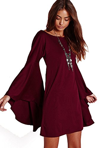 VIVICASLTE Womens Flare Sleeve Blouse product image