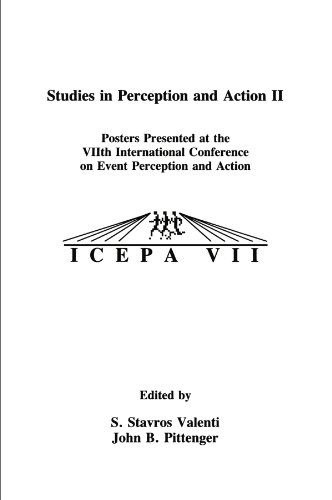 STUDIES IN PERCEPTION AND ACTION II (v. 2)